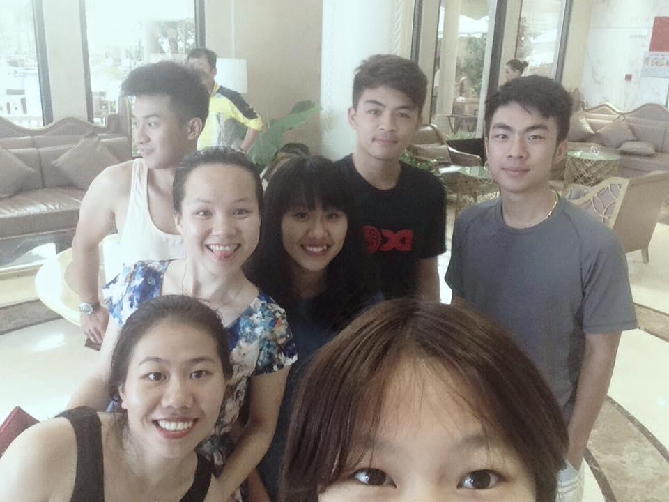 Celebrating 21st birthday with my family in Da Nang