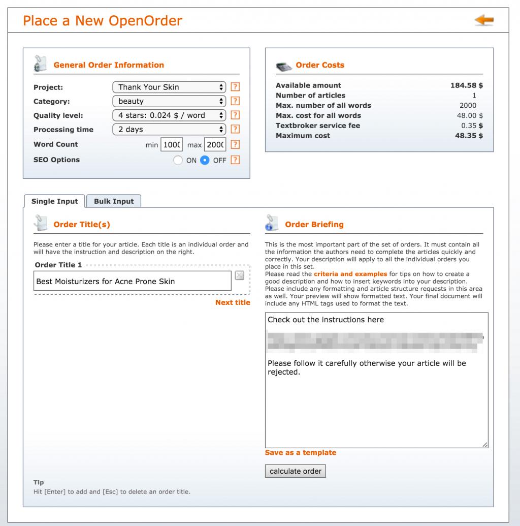 Writing sites similar to textbroker