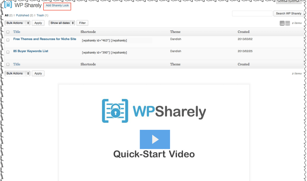 WPSharely Review