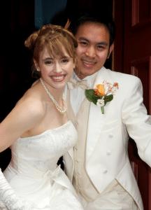 Josh & his wife
