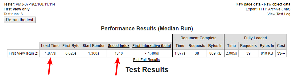 Webpage Speed Test - Focus Blog