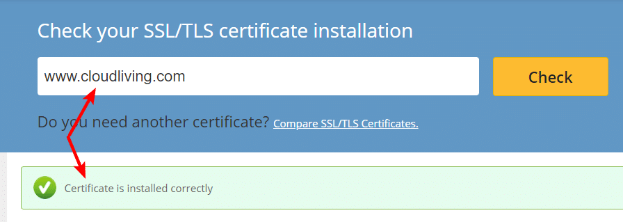 SSL Cert Checker