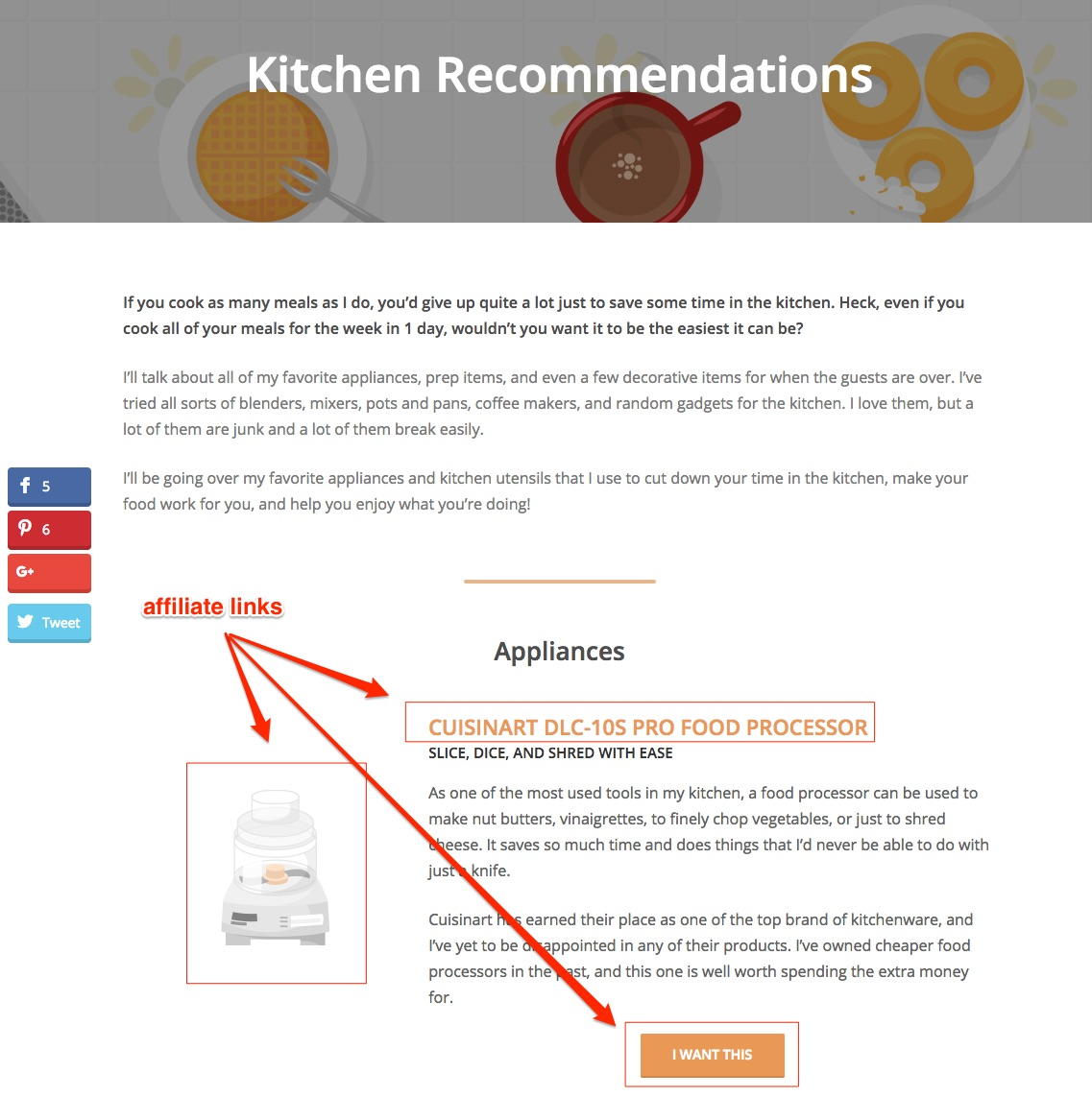 Kitchen Recommendations Ruled Me