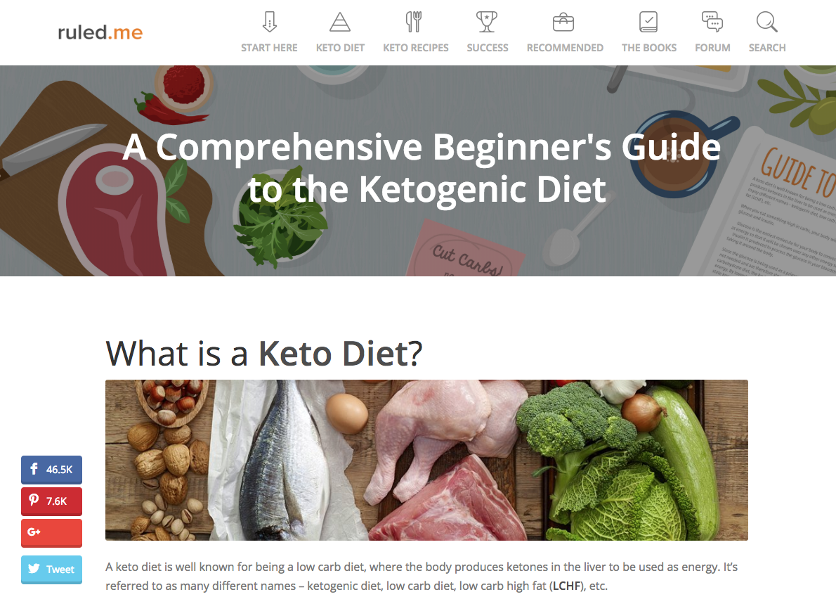 ruled me article keto diet